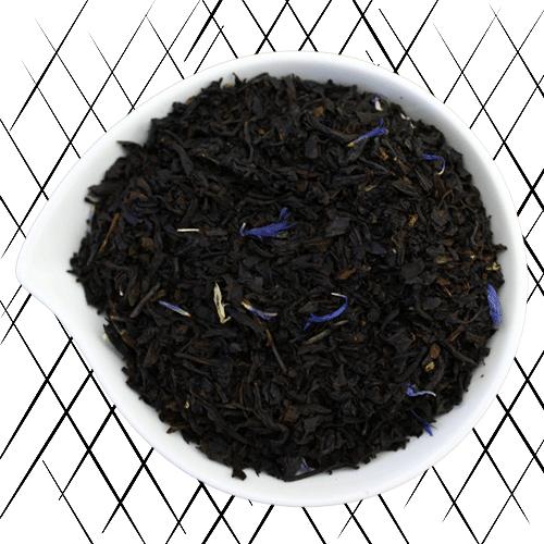 blue earl grey thé noir bio bergamote