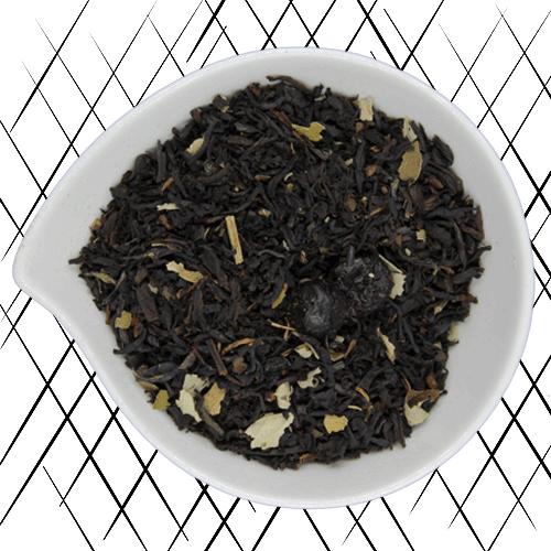 thé noir bio cassis