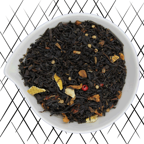 thé noir bio pomme cannelle