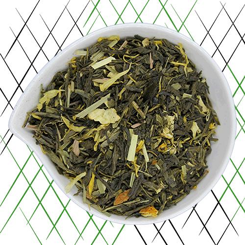 thé vert bio mojito au citron