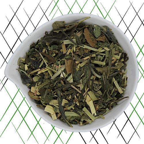 thé vert bio citron ortie et gingembre