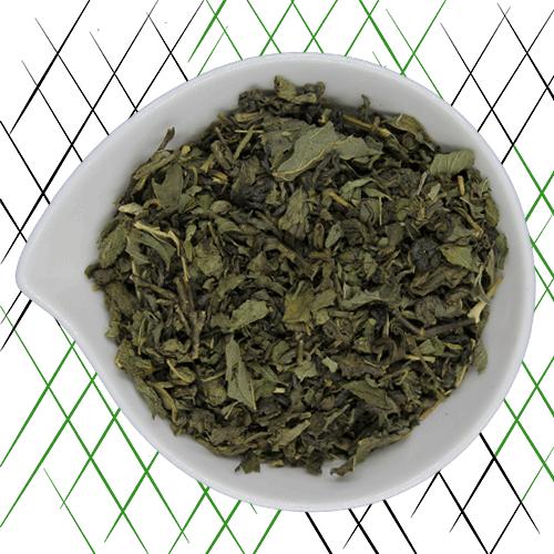 thé vert bio menthe poivrée