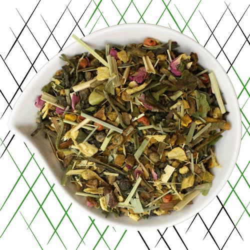 thé vert bio épices et poivre rose