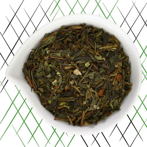 thé vert bio à la noix