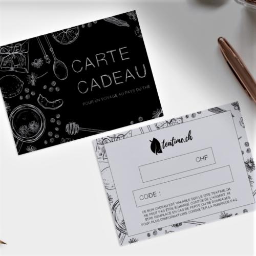 carte cadeau teatime