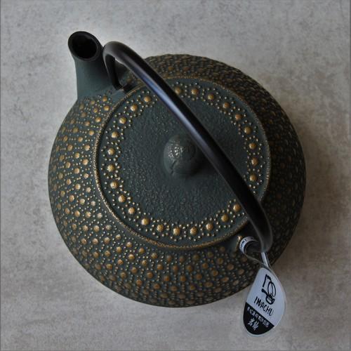 théière verte-bronze Iwachu