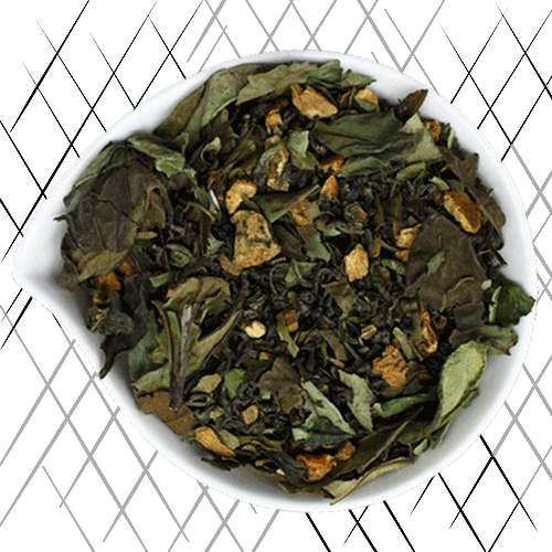 thé blanc à la cannelle
