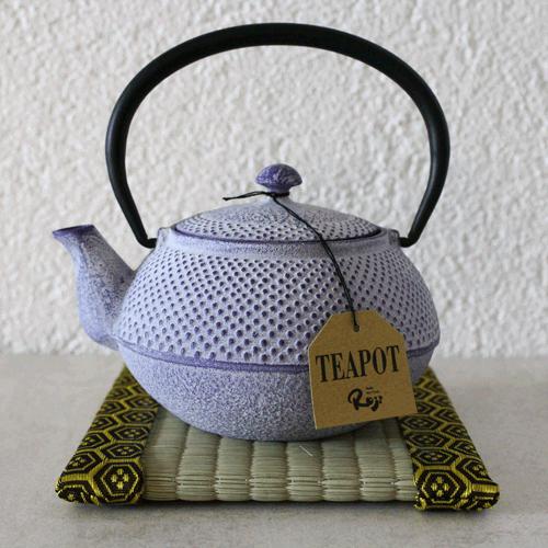 théière avec tatamis