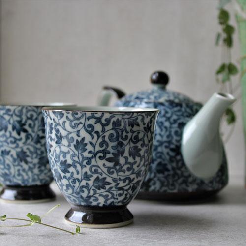 service à thé en céramique