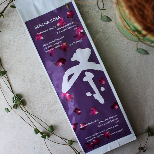sencha rosa du Japon